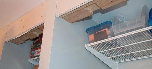 Изготовление встроенного шкафа из гипсокартона