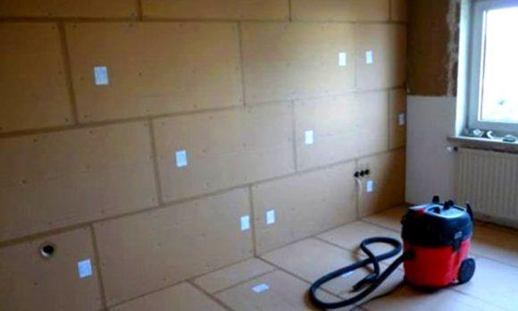 Звукоизоляция стен пенополистирол