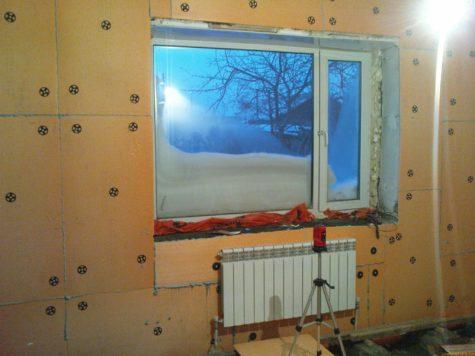 Утепление пеноплексом дома