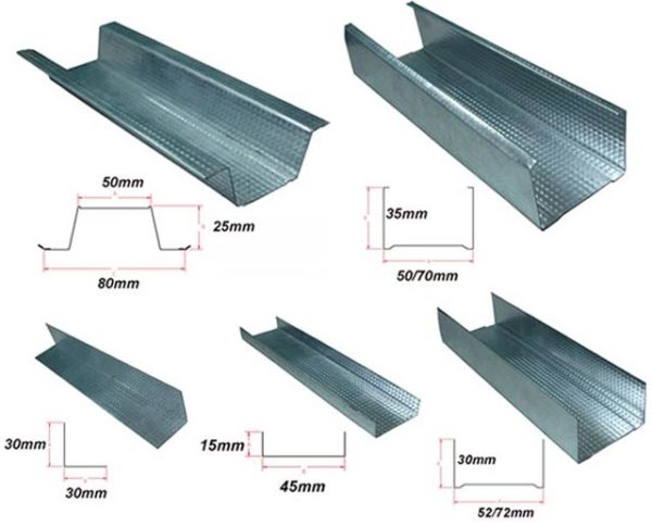 алюминиевый специальный профиль