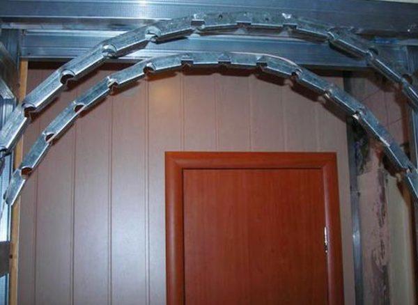 каркас арки
