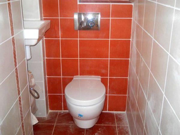 инсталяция в туалете