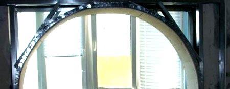 Монтаж каркаса арки под гипсокартон