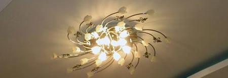 Крепление люстры на потолки из ГКЛ