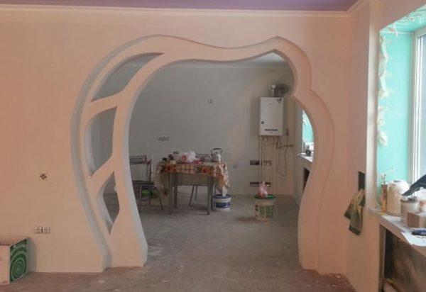 оформление арки