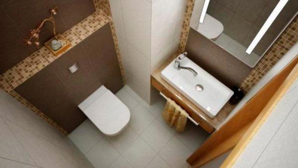 оформление инсталяции в туалете