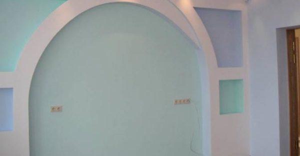интерьер с аркой