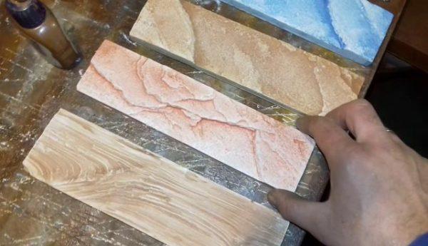 готовая плитка из  гкл