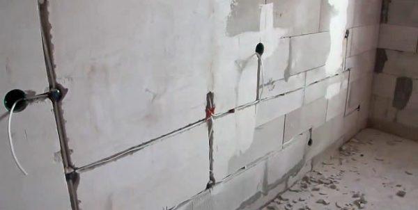 закладка кабеля