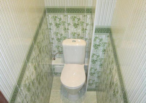 короб в туалете