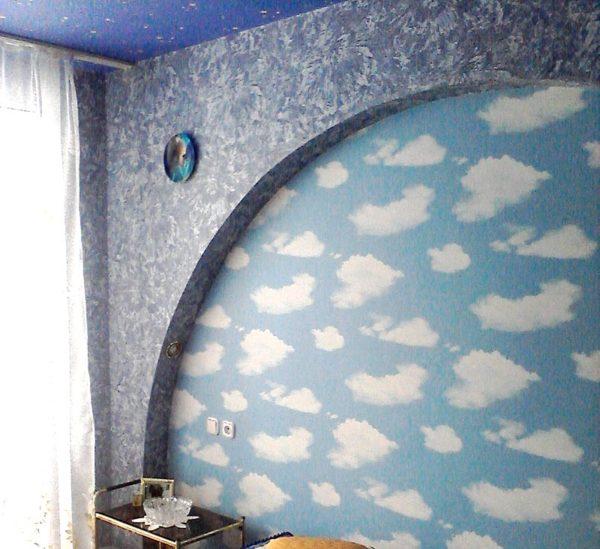 арка на стене