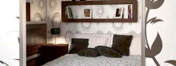 Монтаж полок в спальне из ГКЛ