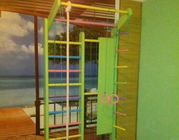 салатовый дизайн помещения