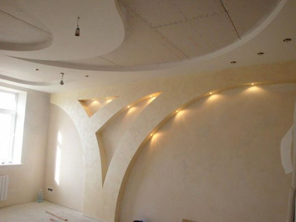 отделка арки