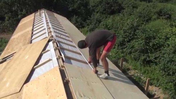 фанера на крышу