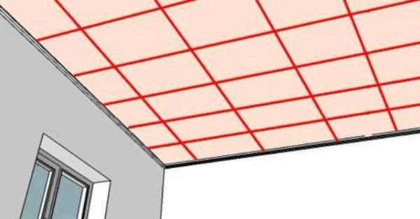 сетка на потолке