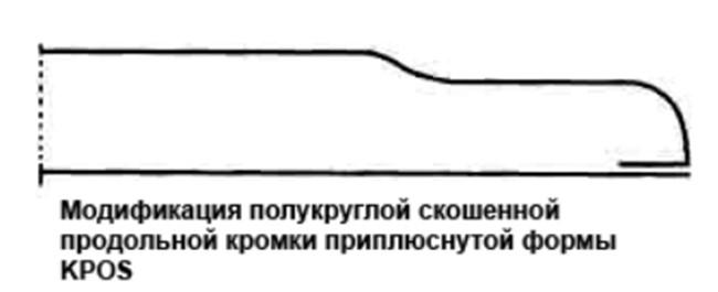 кромка формы KPOS