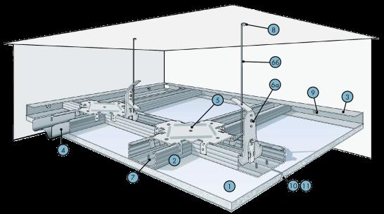 потолочная конструкция серии П 113